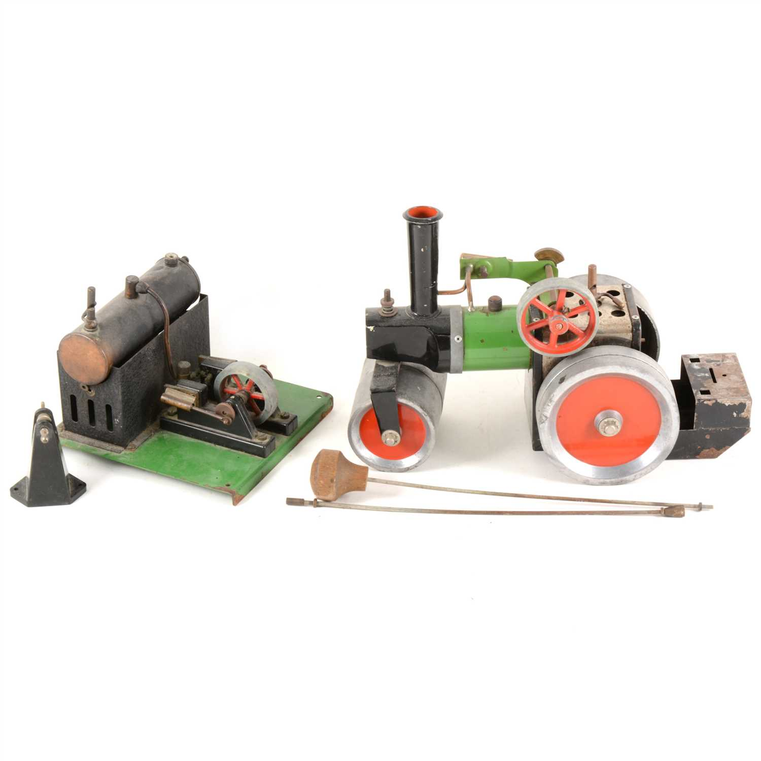 Lot 12-Two Mamod live steam engines, both (a/f)