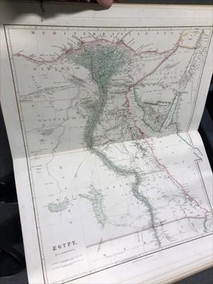 Lot 547-Arrowsmith, John, The London Atlas of Universal Geography, circa 1840.