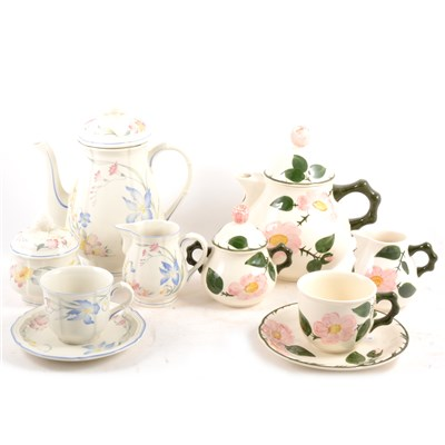 Lot 66-Two Villeroy and Bosch part tea services, Wild Rose and Riviera.
