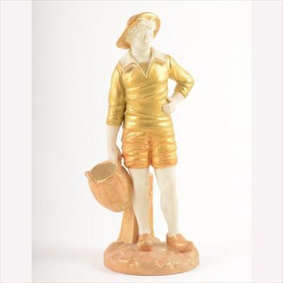 Lot 32-Royal Worcester figure