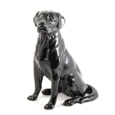Lot 10-A Beswick Fireside model, Black Labrador, ...