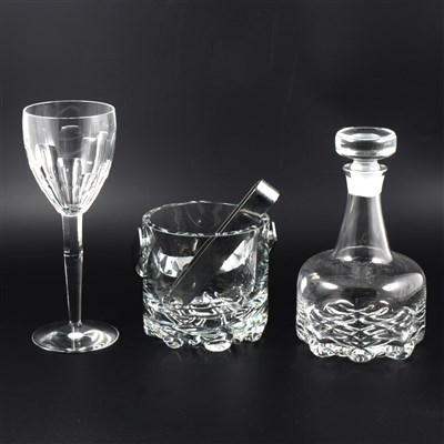 Lot 36-A quantity of glassware, including Orrefors  and Jasper Conran Stuart Crystal