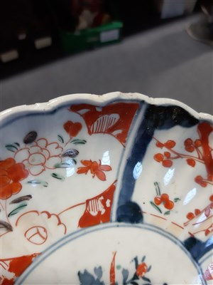 Lot 2-Chinese Export famille rose charger, ...