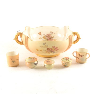 Lot 7-Collection of Royal Worcester miniatures and bowls