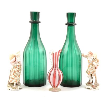 Lot 37-Decorative ceramics and glass, ...