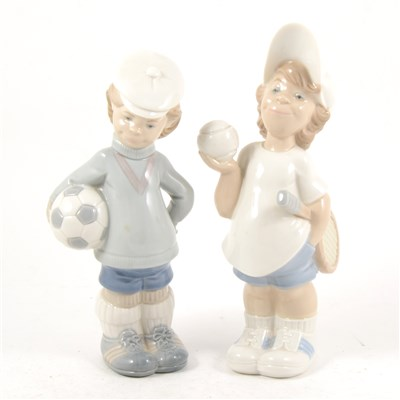 Lot 48-Two Lladro figures, ...