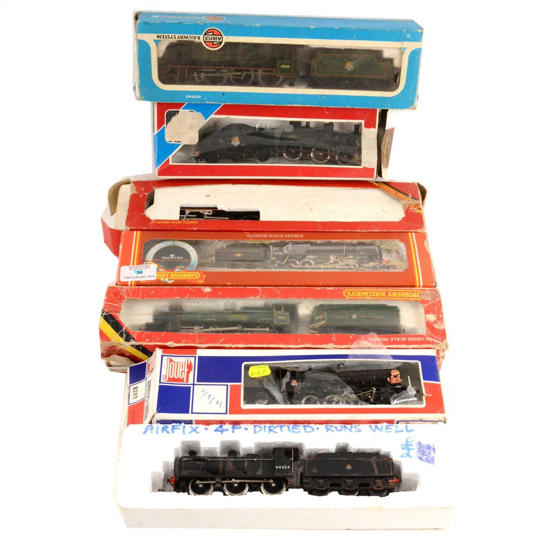 Lot 18-Seven OO gauge model railway locomotives