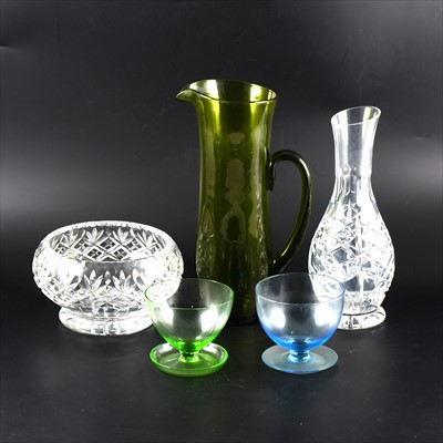 Lot 39-Three boxes of assorted glassware