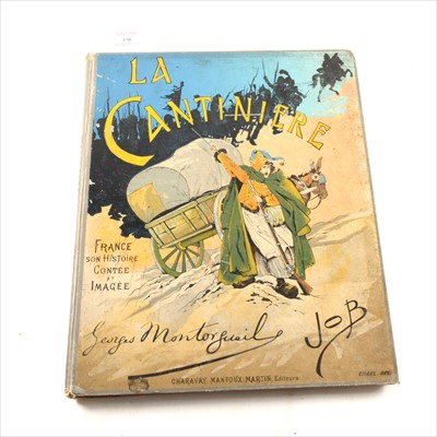 Lot 52-Georges Montorgueil, La Cantiniere, illustrated by Job