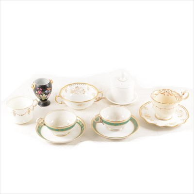 Lot 31-Copeland part teaset and other decorative teaware