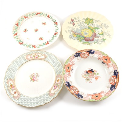 Lot 71-A collection of 19th Century decorative wall plates.