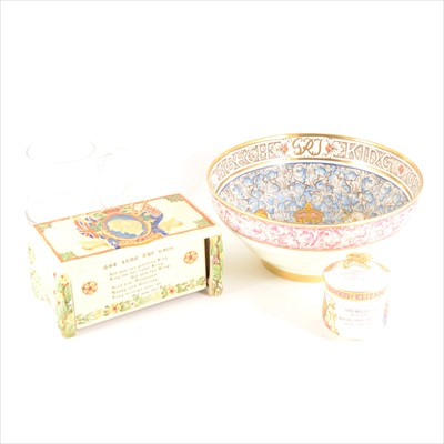 Lot 42-A Paragon Commemorative bowl for the Coronation of King George VI and Queen Elizabeth, etc.