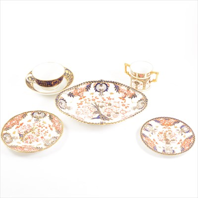 Lot 37-Collection of Royal Crown Derby wares, including Kings pattern and Imari pattern.
