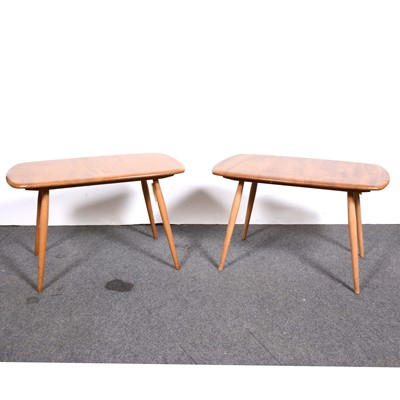Lot 12-Two Ercol small coffee tables