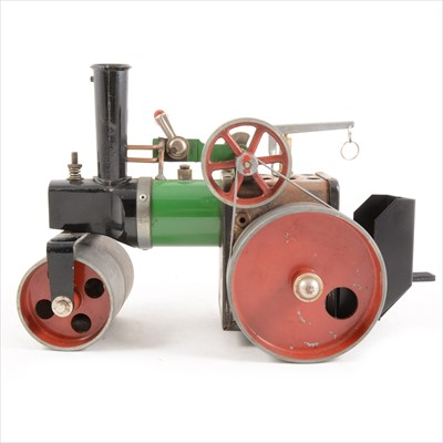 Lot 36-Mamod live steam; SR1a steam road roller, unboxed.