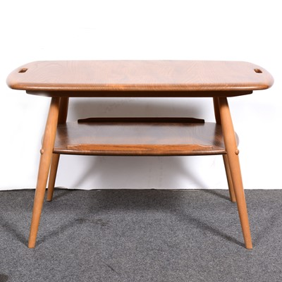 Lot 6-An Ercol  two-tier tray table