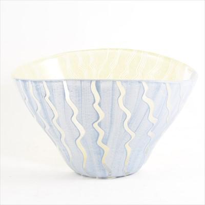 Lot 7-Monica Backstrom for Kosta Boda, a Tonga glass bowl