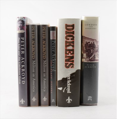 Lot 3-PETER ACKROYD, Dan Leno and the Limehouse Golem,...