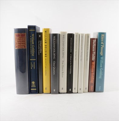 Lot 16-WILLIAM GOLDING, A Visible Darkness, Faber &...