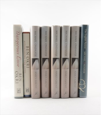 Lot 26-MICHAEL ONDAATJE, The English Patient, Bloomsbury,...