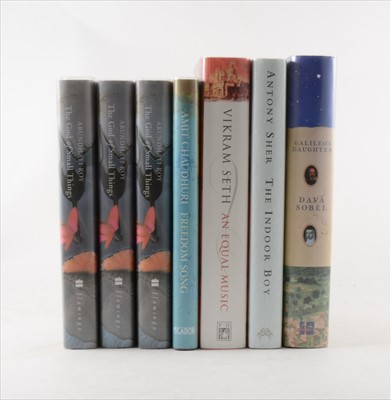 Lot 28-ARUNDHATI ROY, The God of Small Things, Flamingo, ...