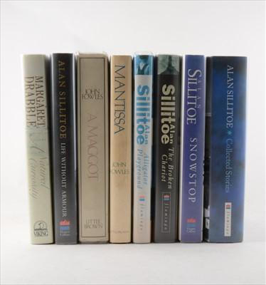 Lot 30-ALAN SILLITOE, Snowdrop, HarperCollins, 1993,...