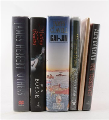 Lot 36-EDNA O'BRIEN, Time and Tide, Viking, 1992, signed;...