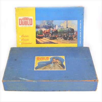 Lot 46-Two Hornby Dublo OO gauge model railway sets; no.2006, and EDP2 'Dutchess of Atholl'.