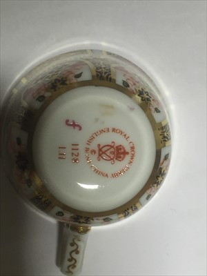 Lot 28-A collection of Royal Crown Derby, Old Imari ware