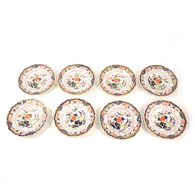 Lot 1040-Eight Masons ironstone side plates