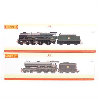 Lot 47-Two Hornby OO gauge model railway locomotives, R3431, R3558.