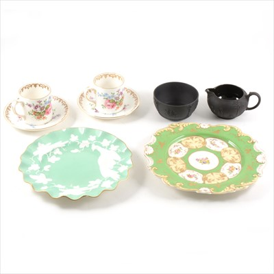 Lot 26-Assorted Crown Staffordshire coffee ware and other china