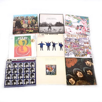 "Lot 31-Vinyl LP and 7"" single records; including nineteen LPs, Fleetwood Mac Kiln House and The Beatles"