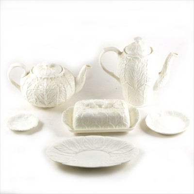Lot 52-A small collection of Coalport bone china Country ware, and Wedgwood ware