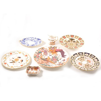 Lot 15-Seven items of Royal Crown Derby