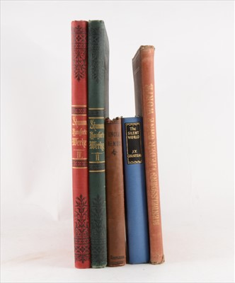 Lot 62-Collection of books and musical scores, including Charles Dickens complete works