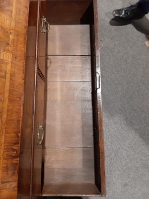 Lot 293 - A George II walnut bureau bookcase