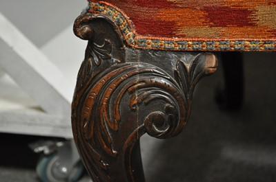 Lot 295 - A pair of Georgian II mahogany side chairs