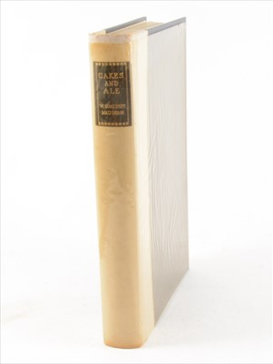 Lot 53-W SOMERSET MAUGHAM [GRAHAM SUTHERLAND], illust], Cakes and Ale, Heinemann