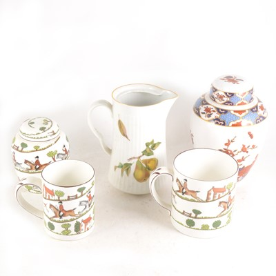 Lot 1049-Royal Worcester Evesham bowls, and other decorative ceramics and tableware