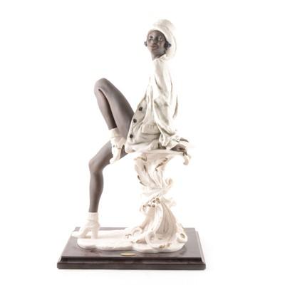 "Lot 19-Giuseppe Armani Florence, ""Whitney"" figure"