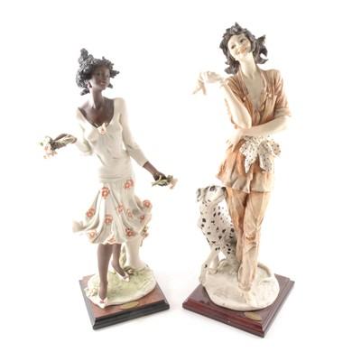Lot 13-Giuseppe Armani Florence, two limited edition figures, Georgina, and Marina