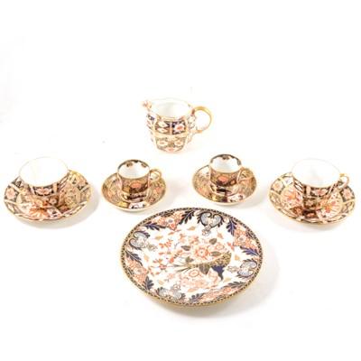 Lot 56-A good quantity of Royal Crown Derby Imari tableware