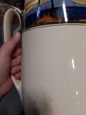 Lot 21-Royal Doulton wash set, comprising jug and bowl