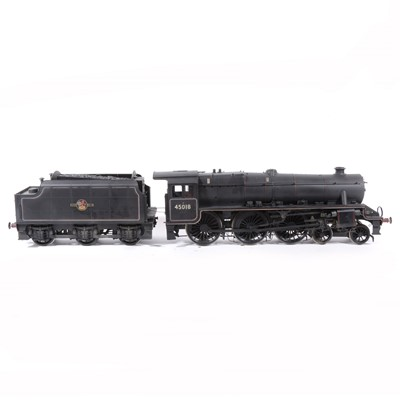 Lot 2-Bachmann electric, gauge 1 / G scale, 45mm locomotive and tender; LSL13 'Black Five' 4-6-0 BR  no.45018, in wooden case.