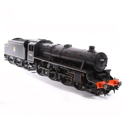 Lot 3 - Accucraft electric, gauge 1 / G scale, 45mm locomotive and tender; 'Black Five' BR no.45080, in wooden case.