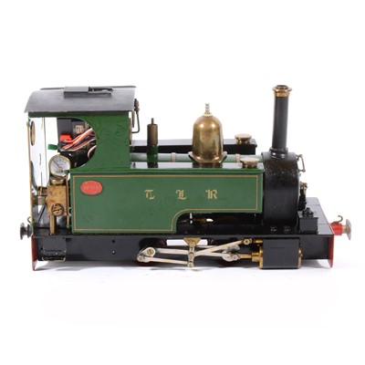 Lot 7-Merlin Loco Works electric, gauge 1 / G scale, 32mm locomotive, no.369 green.