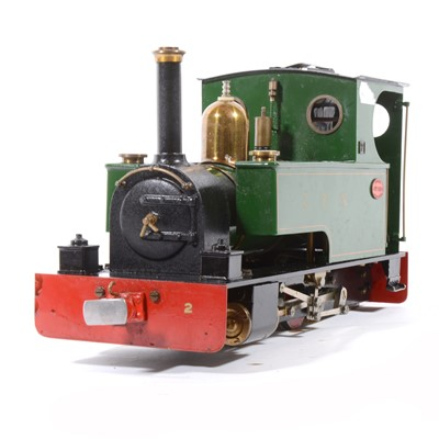 Lot 7-Merlin Loco Works electric, gauge 1 / G scale, 45mm locomotive, no.369 green.