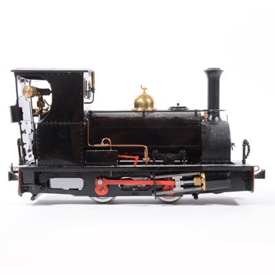 Lot 12-Roundhouse live steam, gauge 1 / G scale, 32mm locomotive, 'Lilla' 0-4-0, added 'Guthlaxton' label to sides, with instructions, accessories and box, with RC