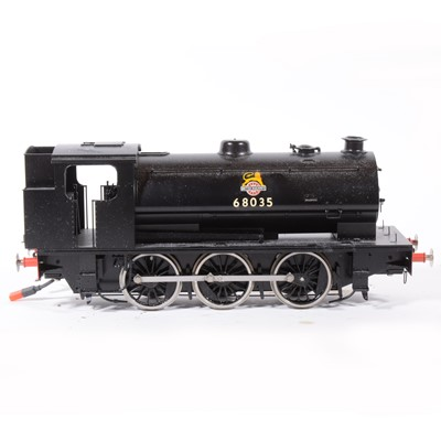 Lot 13-Shanteng electric, gauge 1 / G scale, 45mm locomotive, 0-6-0 BR no.68035.